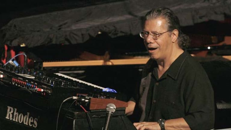 Dazzling ... Return to Forever's Chick Corea.