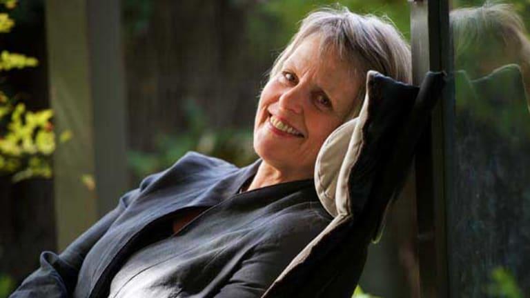 Retired Democrats Senator Lyn Allison at her home in Port Melbourne.