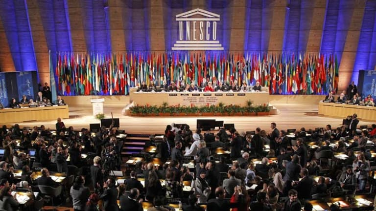 Palestine has been given full membership of UNESCO.