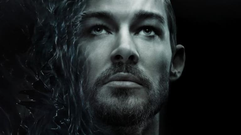 Daniel Johns: Starring on the cover of his new single, <i>Aerial Love</i>.