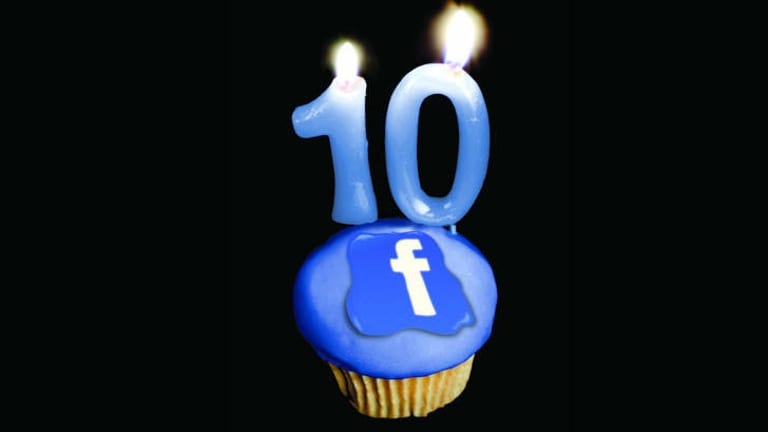Facebook turns 10 on February 4.