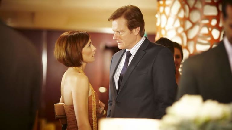 How it is: Caroline (Claudia Karvan) and Matt (William McInnes) navigate a rocky marriage in the Australian drama.