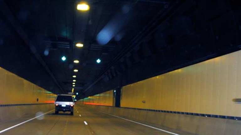 The tunnel will have two lanes, each travelling in a different direction.