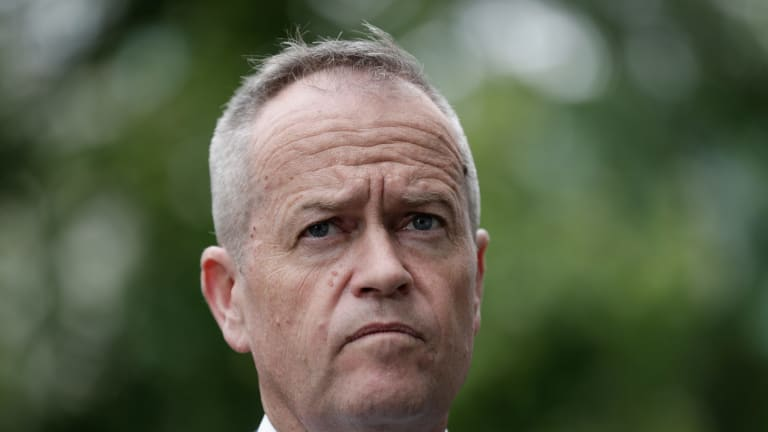 Opposition Leader Bill Shorten: Perhaps workers just can't accept that the guy that says he's out batting for them is doing the opposite.