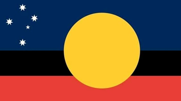 John Warwicker's flag.