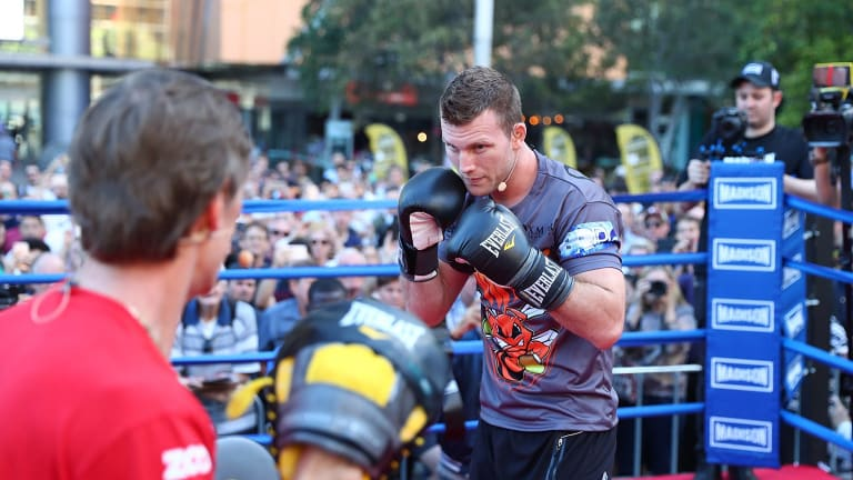 From tough stock: World title hopeful Jeff Horn.