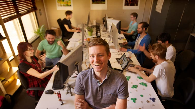 Matt Clark and his Voxel Agents co-founders shifted south from Brisbane to Melbourne – and it wasn't for the weather.