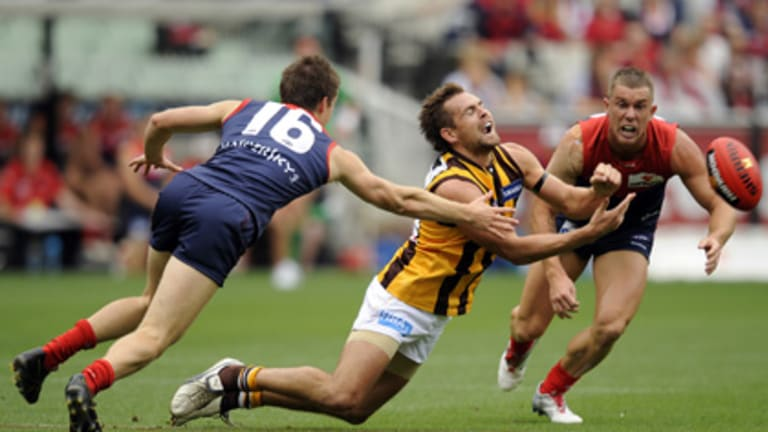 Luke Hodge accumulated more than 30 possessions during the victory.