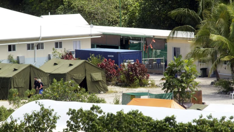 Asylum seekers at the Nauru regional processing centre are believed to be distressed by the Facebook ban.