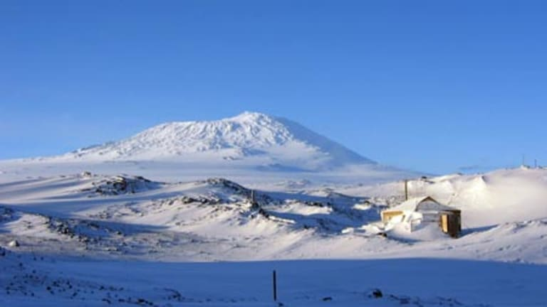 Cold storage ... Shackleton's hut.