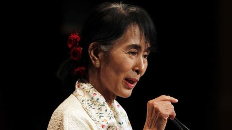 Aung San Suu Kyi to receive a joint honorary degree from the University of Sydney and the University of Technology, Sydney.