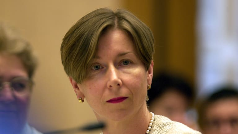 Jane Halton has told public servants to get smart about internet security.