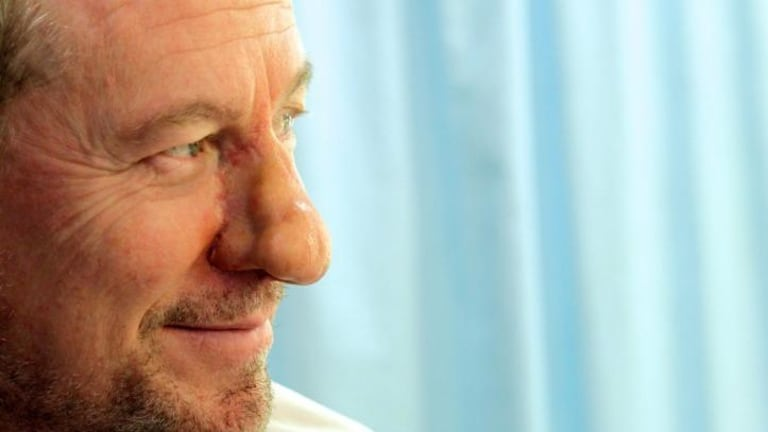 The nose: in all its full-blown glory on Richard Roxburgh.