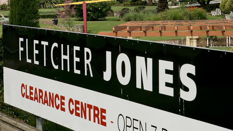 Fletcher Jones is to liquidate stock at its remaining outlets.