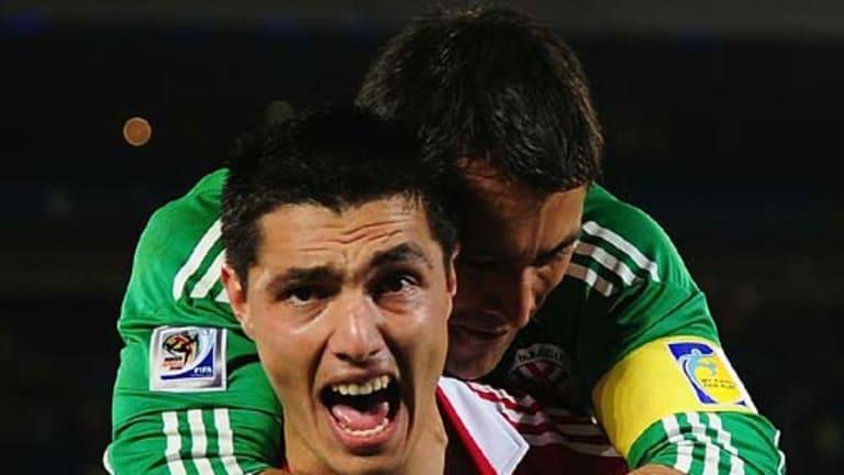 Oscar Cardozo ... scored the winning penalty.