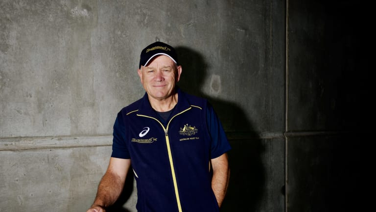 Ric Charlesworth is the inaugural winner of the AIS World's Best Award.