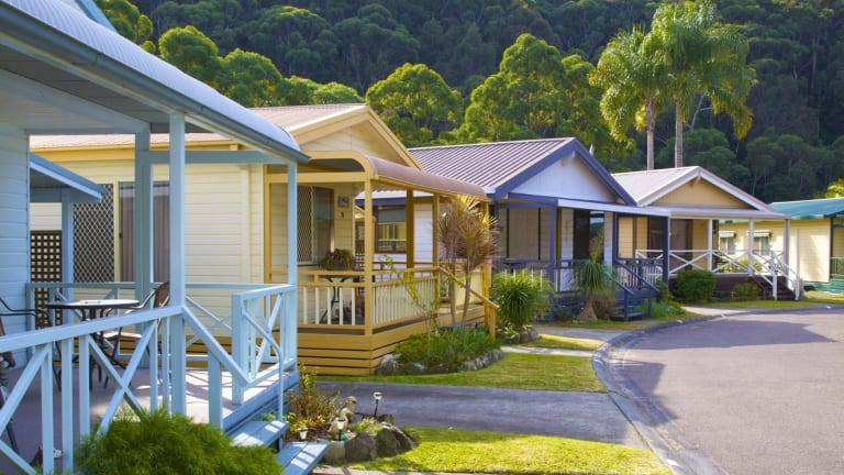 Ingenia's portfolio includes the Ettalong Beach Holiday Village.
