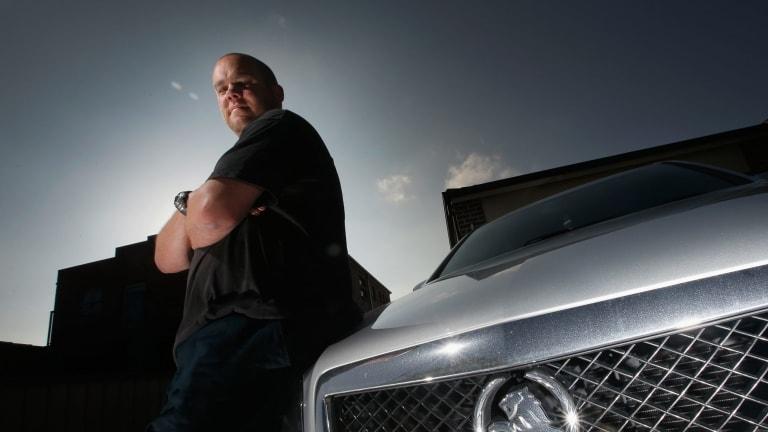Former Holden worker Shaun Matthews