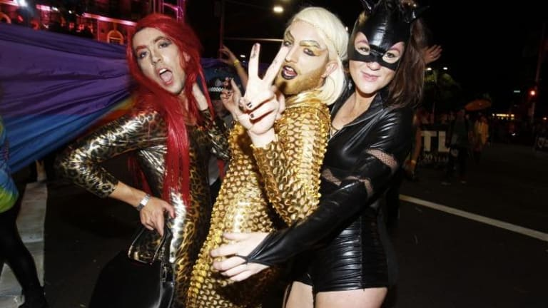 Financial loss: Sydney's Gay and Lesbian Mardi Gras.