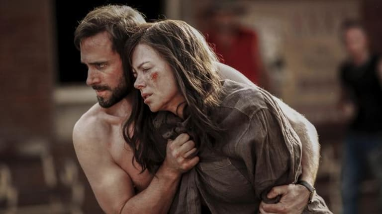 Joseph Fiennes and Nicole Kidman play a couple whose teenage children go missing in <Strangerland</>.