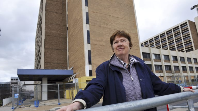 Chair of the Woden Valley Community Council, Dr. Jenny Stewart,
