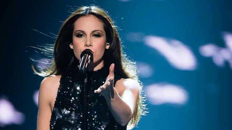 Show-stopper: Caterina Torres performs Beyonce's <em>If I Were a Boy</em>.