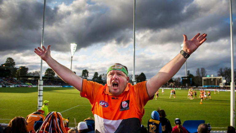 Manuka Oval will host its first AFL final when the GWS Giants bring September action to the capital.
