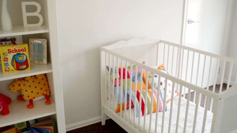 "Researchers said parents should consider using an older crib mattress or provide ""an extended airing-out period"" before putting a new mattress in the crib."