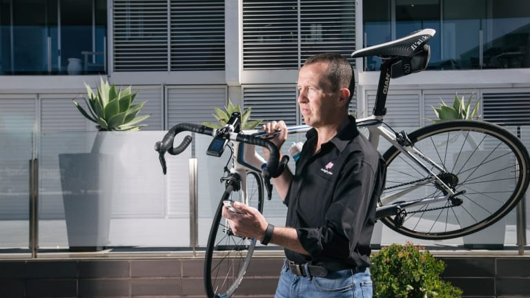Ben Bowley, CEO of cycling start-up Today's Plan and former Apple Australia MD.