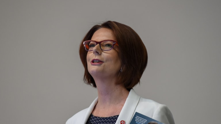 Former Prime Minister Julia Gillard suffered the type of insults from her political foes that would unlikely be levelled at male politicans.