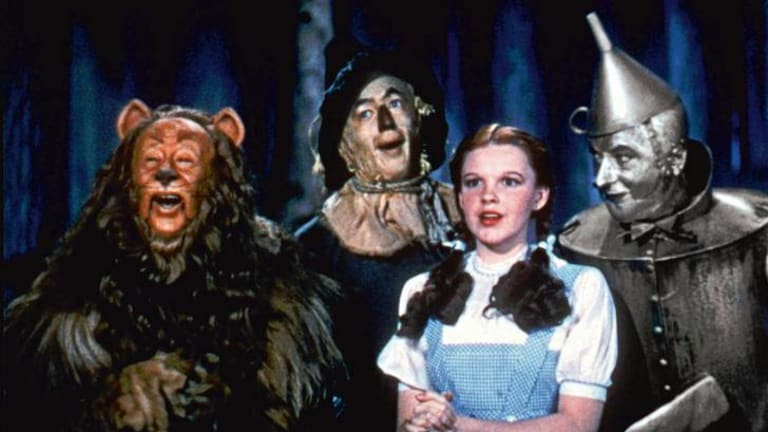 David Halperin sees Judy Garland (as Dorothy with her friends in <i>The Wizard of Oz</i>) as crucial to the ''gay curriculum''.
