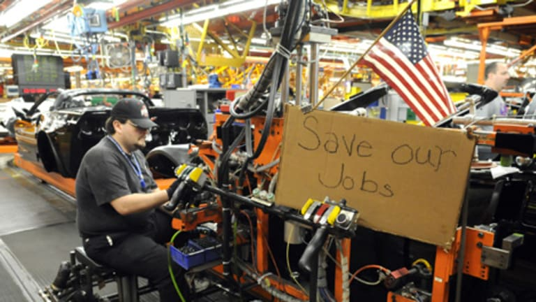 Tough times ... the General Motors assembly plant in Kentucky.