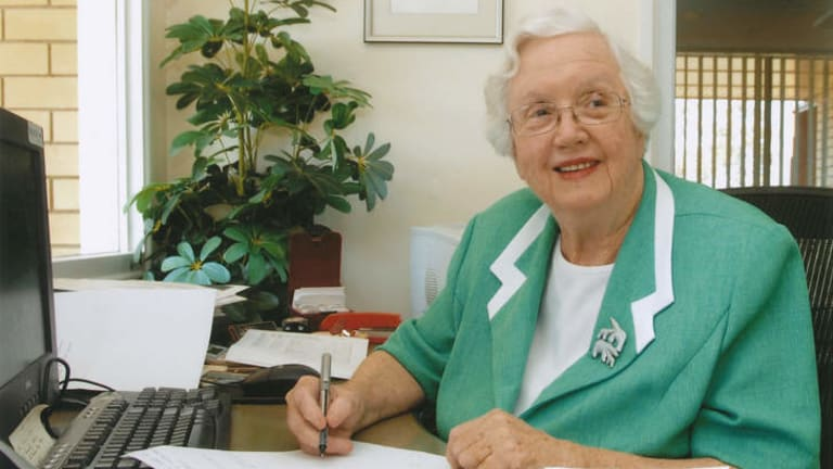 Canny intuition: Margaret Mittelheuser devoted her life to her clients.