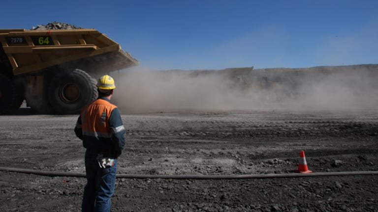 Costs at  BMA's Bowen Basin operation in Queensland are back to 2008 levels.