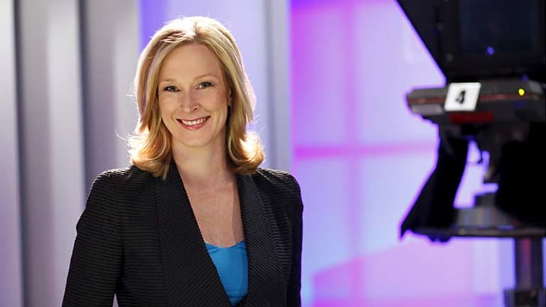 """7.30 presenter Leigh Sales responded to Grahame Morris' comment via Twitter: """"I'd rather be a cow than a dinosaur."""""""