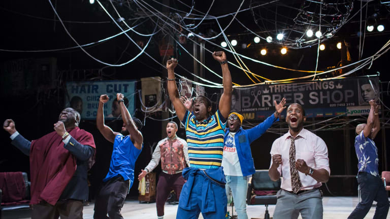 <I>Barber Shop Chronicles</I> is part of this year's Sydney Festival.