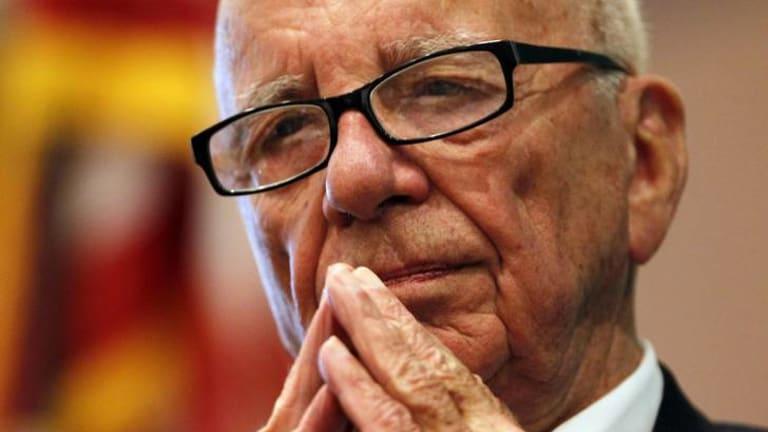 """Rupert Murdoch ... an """"astonishingly cold man""""."""