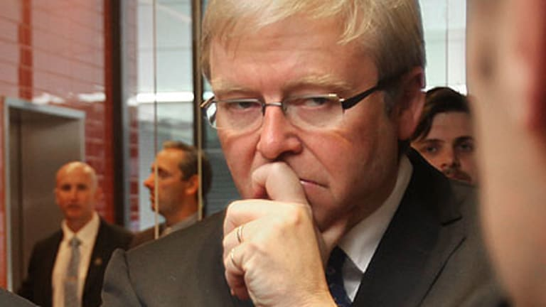 "Kevin Rudd ... ""a strange beast""."