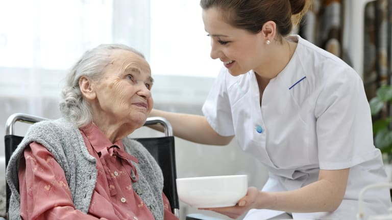 Our ageing population is going to fuel demand for  aged care workers. Will they all be women?