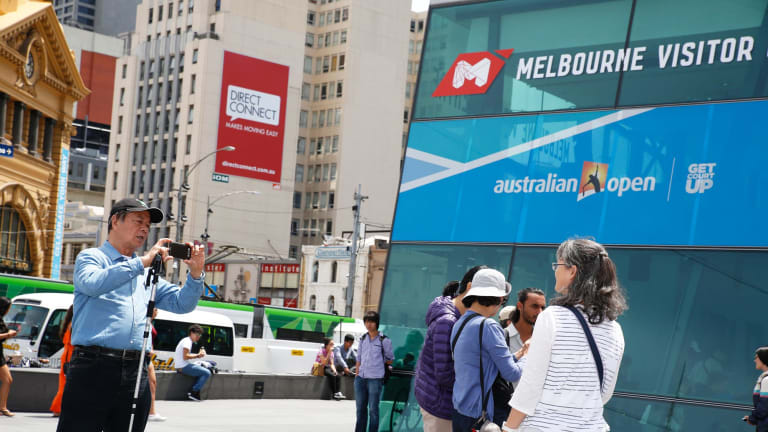 The number of Chinese tourists visiting Melbourne is expected to rise by 109 per cent by 2023.