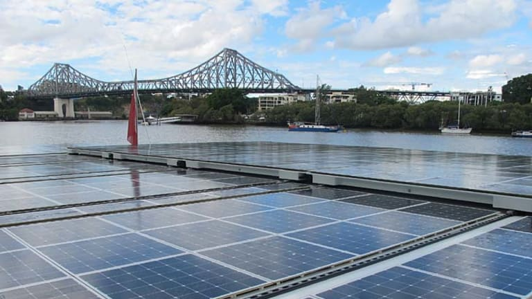 The Turanor PlanetSolar boasts 500 square metres of solar panels.