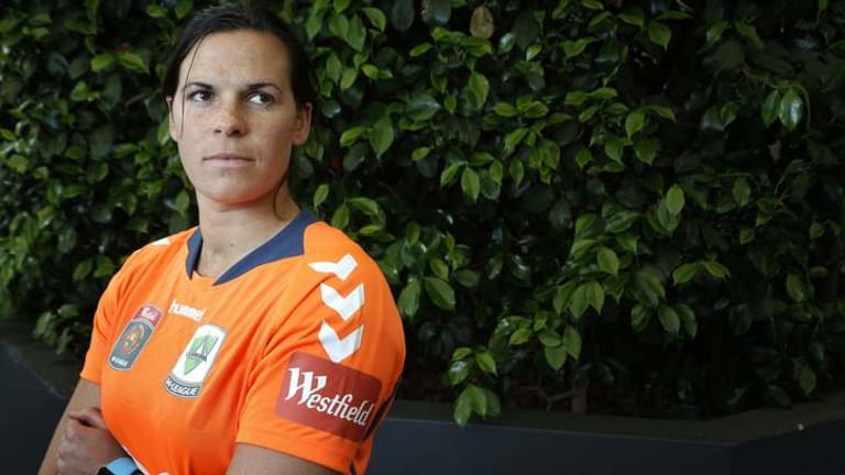 Canberra United goalkeeper Lydia Williams is back after a season in Sweden.