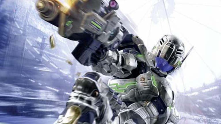 A frenetic third-person shooter ... Vanquish.