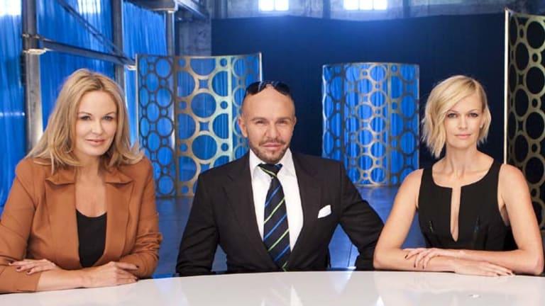 Judging panel ... Charlotte Dawson, Alex Perry and Sarah Murdoch.