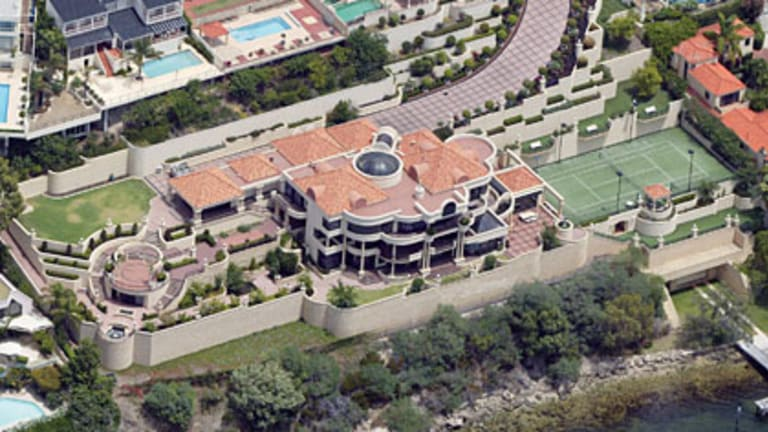 Angela Bennett's mansion has sold for $57.5 million, the biggest residential property sale in Australian history.