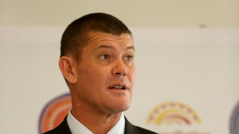 James Packer to step down from Crown board but stays on as an executive.