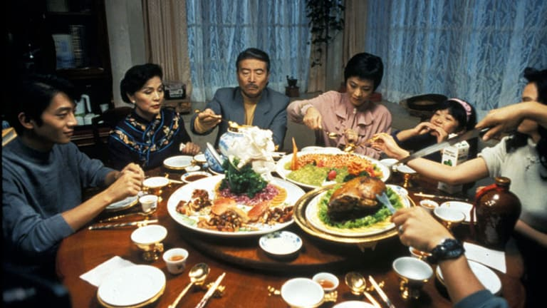 A scene from the film <i>Eat Drink Man Woman</i>.