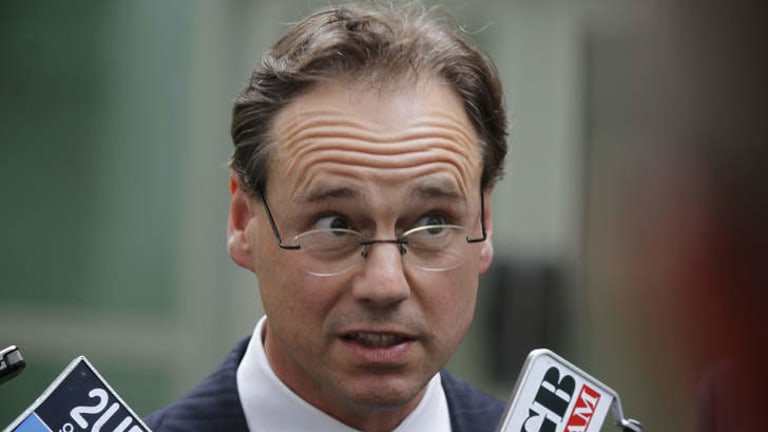 Environment Minister Greg Hunt says he looked up Wikipedia about bushfires in Australia.
