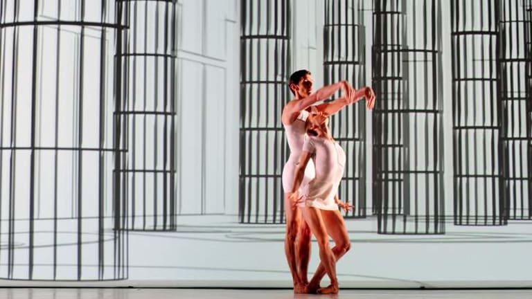 The Australian Ballet dances the dance of the building of Parliament House - The Monument.