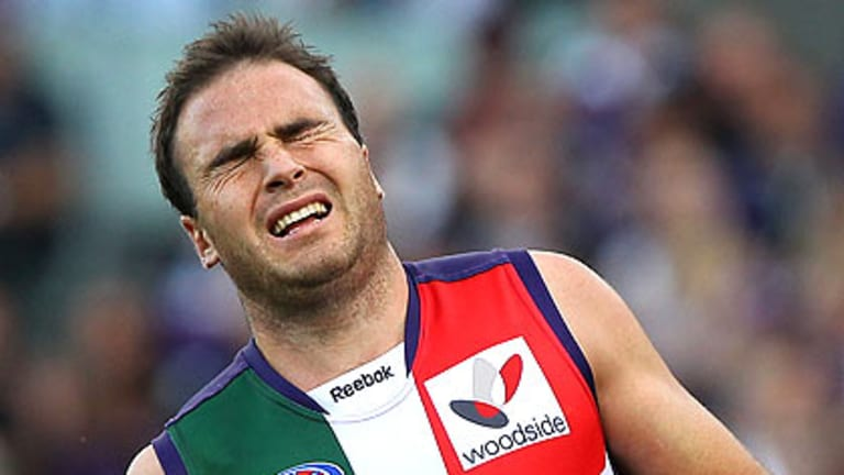 Paul Hasleby will today end his decorated career with the Dockers.